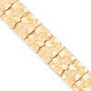 14k 15mm Nugget Bracelet