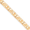 14k 7.00mm Nugget Bracelet